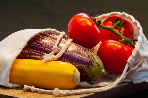 Gemüse & Käsetasche 20*25