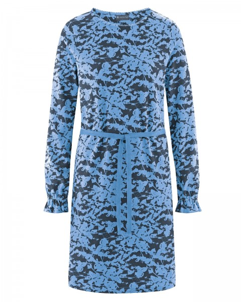 Neu! Kleid mit Blätterprint