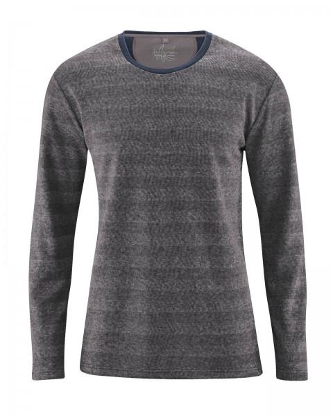 Shirt mit Fischgrät-Muster