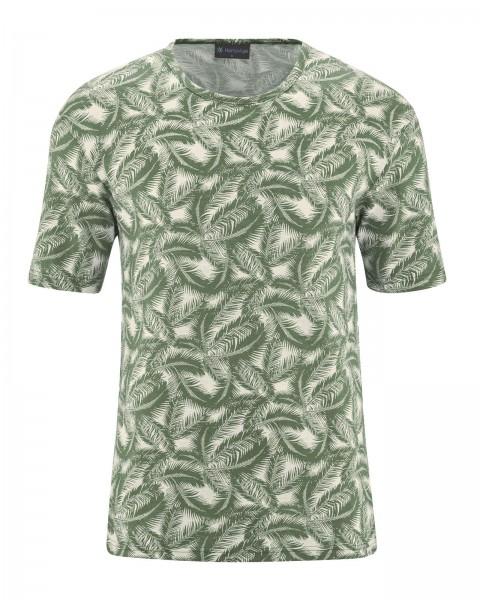 Palmenprint Jersey Shirt