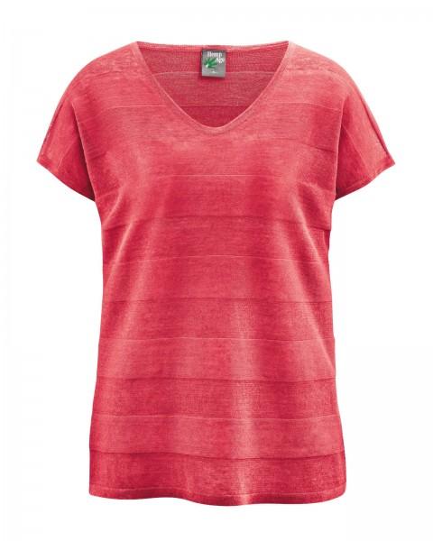 Streifen-Strickshirt